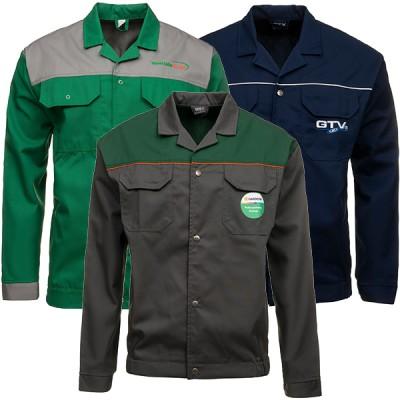 Ubrania robocze z logo firmy